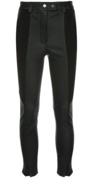 Panelled Leather Trousers - A.l.c.