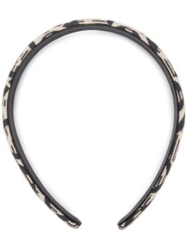 Headband Com Padronagem - Salvatore Ferragamo