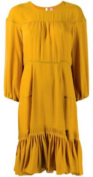 Silk Tiered Style Dress - Dorothee Schumacher