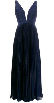 Pleated Gown - Blanca