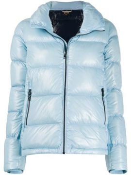 Lacquered-effect Puffer Jacket - Colmar