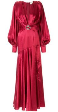 Carmen Belted Gown - Bronx And Banco