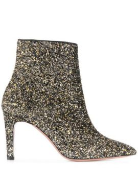 Ankle Boot Com Glitter - P.a.r.o.s.h.