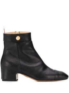 Ankle Boot Com Salto Bloco - Thom Browne