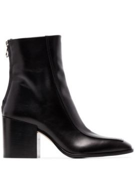 Lidia 80mm Leather Ankle Boots - Aeyde