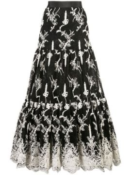 Tiered Lace Skirt - Alexis