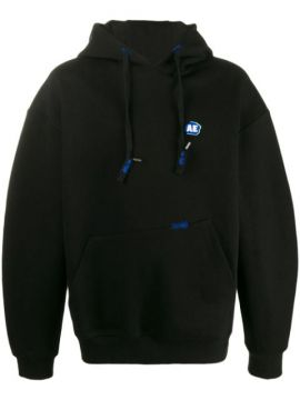 Oversized Logo Patch Hoodie - Ader Error