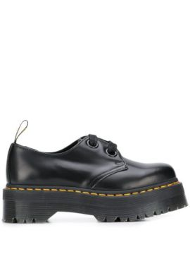 Holly Platform Lace-up Shoes - Dr. Martens