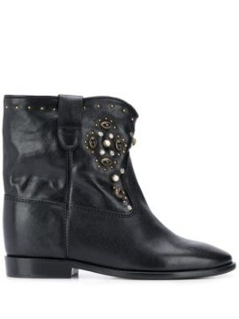 Cluster Studded Ankle Boots - Isabel Marant