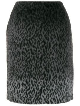 Karl X Carine Brushed Finish Skirt - Karl Lagerfeld