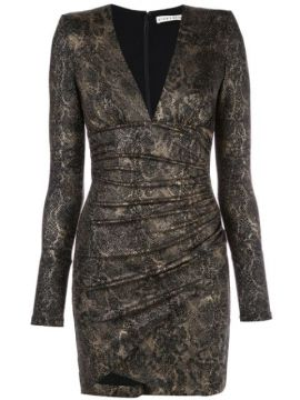 Lace Fitted Dress - Alice+olivia
