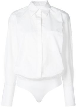 Howard Shirt Bodysuit - Alix Nyc