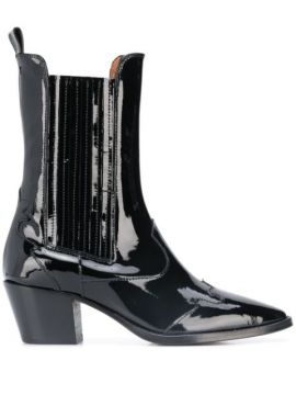 Pointed Ankle Boots - Paris Texas