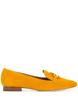 Logo Plaque Loafers - Tory Burch