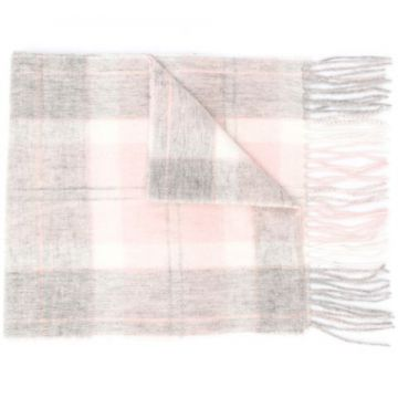 Two-tone Fringed Scarf - Barbour