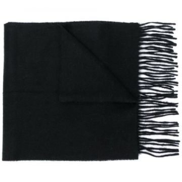 Fringed Knit Scarf - Barbour