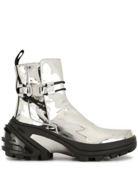 Buckled Futuristic Ankle Boots - 1017 Alyx 9sm