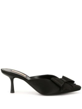 Kitten Heel Bow Pumps - Fabrizio Viti