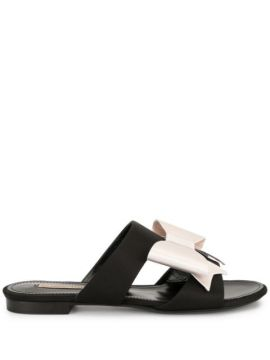 Bow Slider Sandals - Fabrizio Viti
