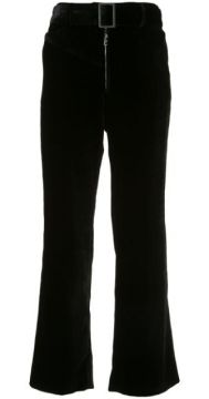 Supervision Belted Flared Trousers - Ellery