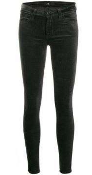 Low-rise Skinny Trousers - 7 For All Mankind