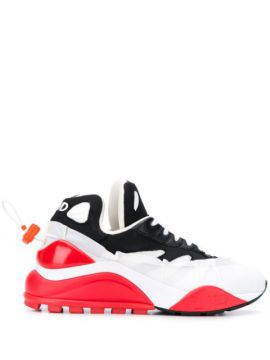 Low-top Colour Block Sneakers - Fwd