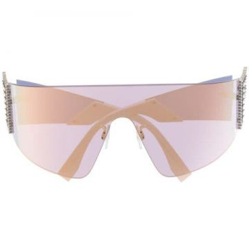 Ffreedom Mask-shaped Sunglasses - Fendi Eyewear