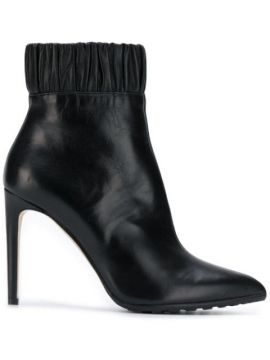 Ruched Ankle Boots - Chloe Gosselin