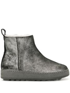 Metallic Shearling Boots - Philippe Model