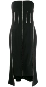 Crystal-embellished Strapless Dress - David Koma