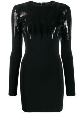 Sequinned Mini Dress - David Koma