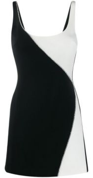 Embellished Colour Block Dress - David Koma