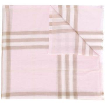 Giant Check Lightweight Scarf - Burberry