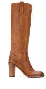 A4375 Knee Length Boots - Strategia