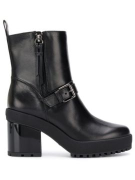 Buckled Ankle Boots - Hogan