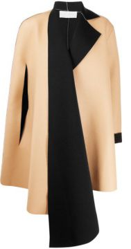 Colour Block Oversized Tailored Coat - Esteban Cortazar
