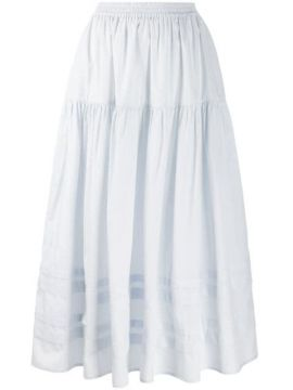 Tiered Striped-panel Skirt - Cecilie Bahnsen