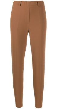 High-rise Cropped Trousers - Blanca