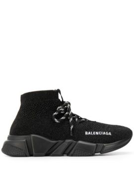 Speed Lace Up Sneakers - Balenciaga