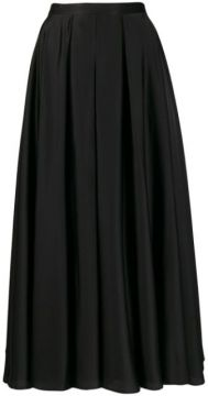 Pleated A-line Skirt - Blanca