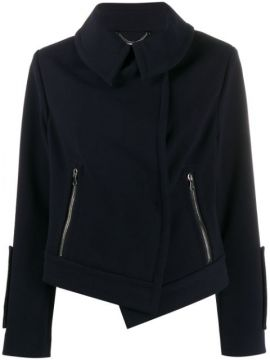 Oversized Collar Fitted Jacket - Dorothee Schumacher