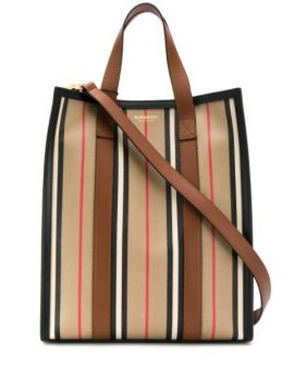 Icon Stripe Tote - Burberry