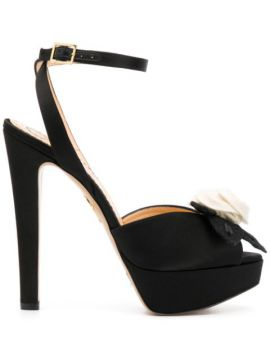 Open Toe High Heeled Sandals - Charlotte Olympia
