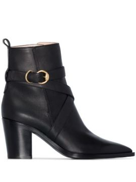 Western-style 70mm Ankle Boots - Gianvito Rossi