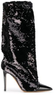 Laura 100mm Sequinned Boots - Alexandre Vauthier