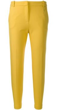 Slim-fit Cropped Trousers - Pinko