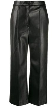 Wide Leg Cropped Trousers - Chalayan