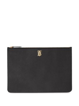 Monogram Clutch Bag - Burberry