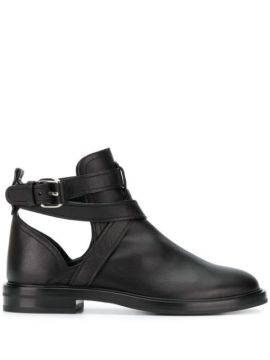 Crossover Straps Ankle Boots - Casadei
