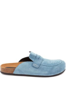Suede Loafer Mules - Jw Anderson